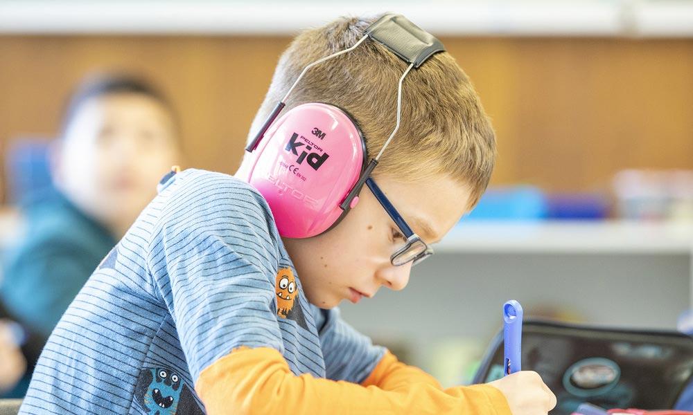 3M Peltor Kid - Casque antibruit pour enfants