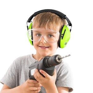 Dr; Meter EM100 - Casque antibruit pour enfants