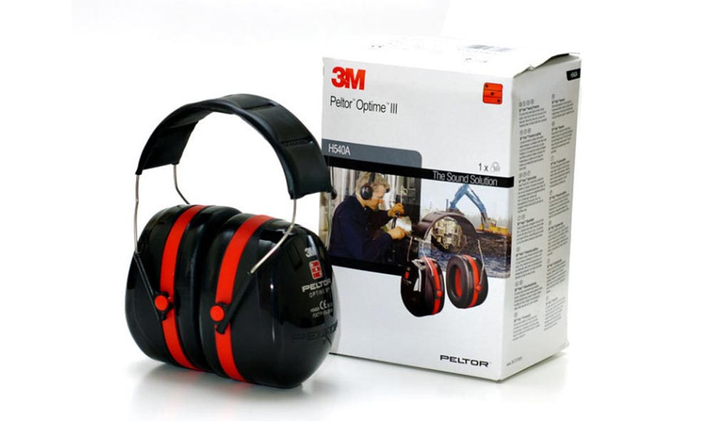 3M Peltor Optime III (Optime 105) - Casque antibruit passif
