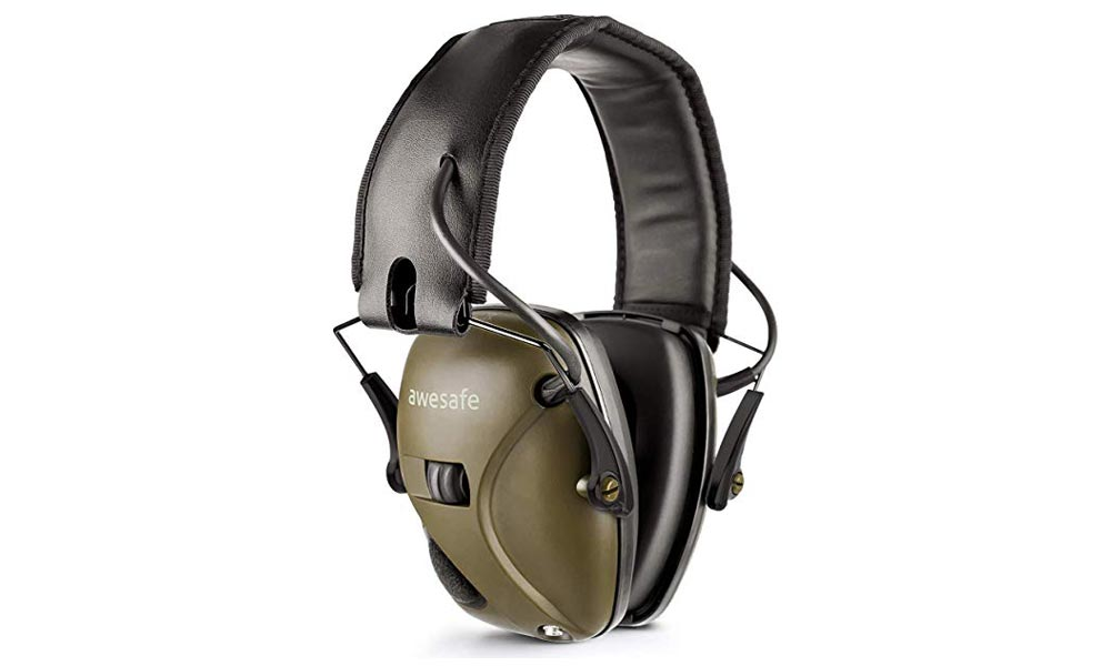 Awesafe GF01 - Casque antibruit actif/électronique