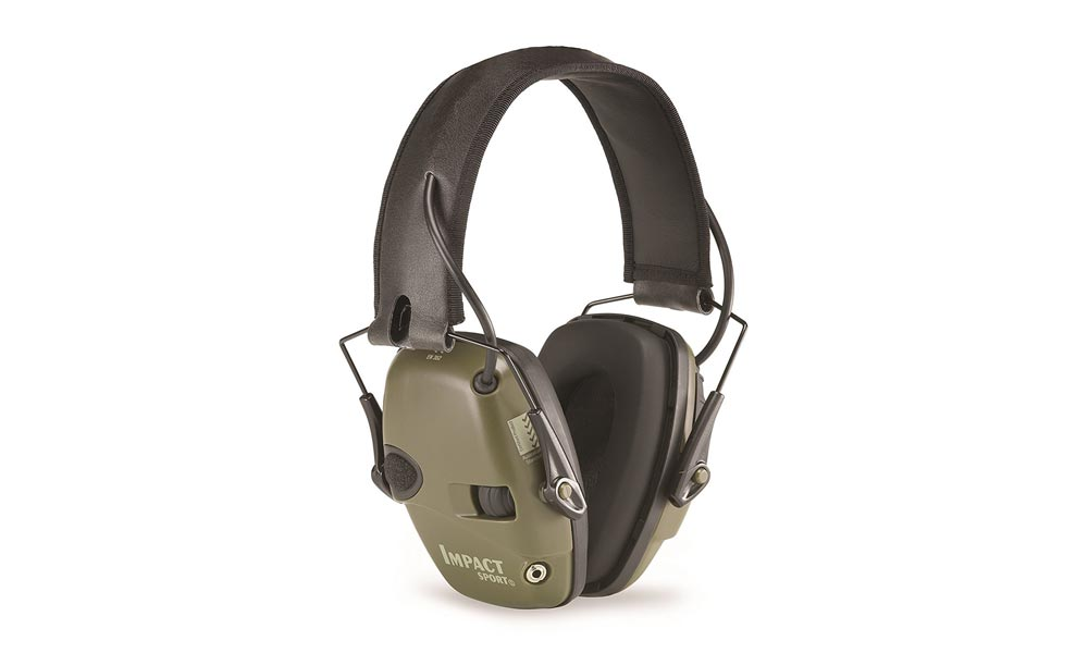 Howard Leight Impact Sport - Casque antibruit actif/électronique