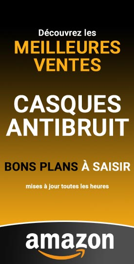 Meilleures ventes Amazon de casques antibruit